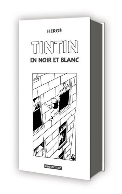 Tintin, mini-albums en noir et blanc