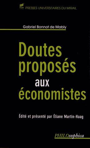 Doutes proposes aux economistes