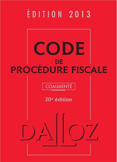 Code de procédure fiscale commenté