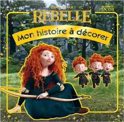 Rebelle -  : Mes stickers en or