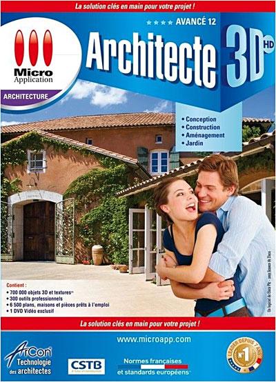 Architecte 3D HD Avancé 2012   DVD ROM   Achat U0026 Prix | Fnac