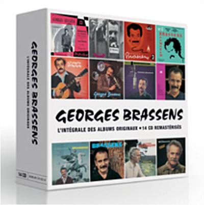 Beliebt L'intégrale des albums studio - Coffret 14 CD - Georges Brassens  NB09