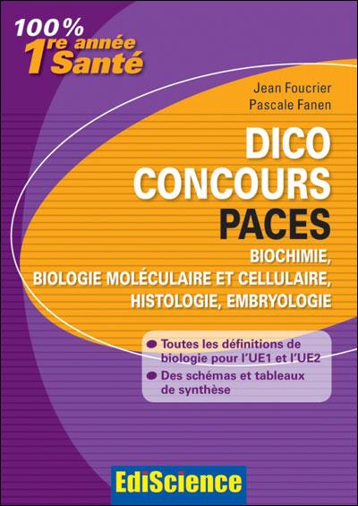 Dico Concours PACES - 2e ed.