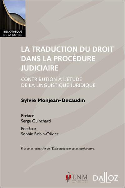La traduction du droit dans la procédure judiciaire - 1ère édition