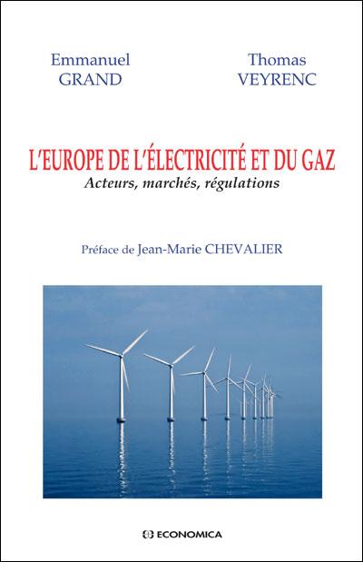 L'Europe de l'électricite et du gaz