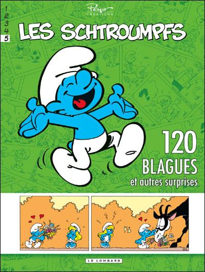 Schtroumpfs (120 Blagues) - Tome 5 - 120 Blagues et autres surprises