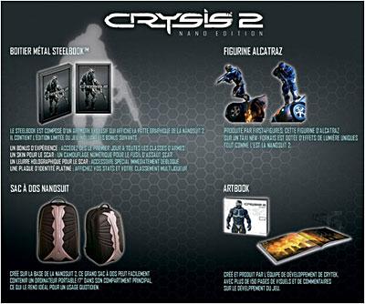 Crysis 2 - Nano Edition Exclusivité Fnac