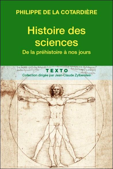 Histoire des sciences de l'Antiquité à nos jours