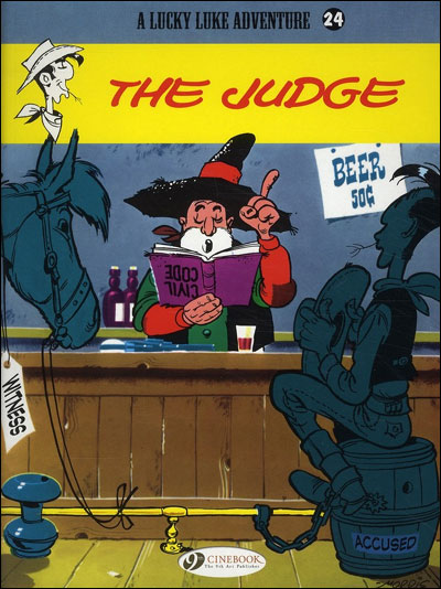 Lucky Luke - tome 24 The judge