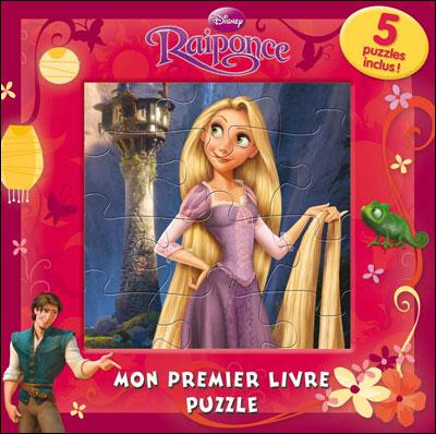 Raiponce -  : Mon premier livre-puzzle