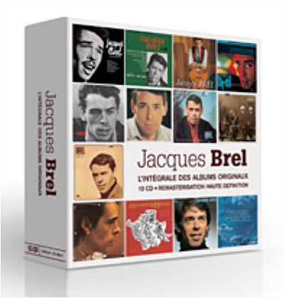 Relativ L'intégrale des albums studio - Coffret 13 CD - Jacques Brel - CD  VW52