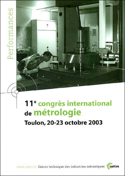 11e Congrès international de métrologie