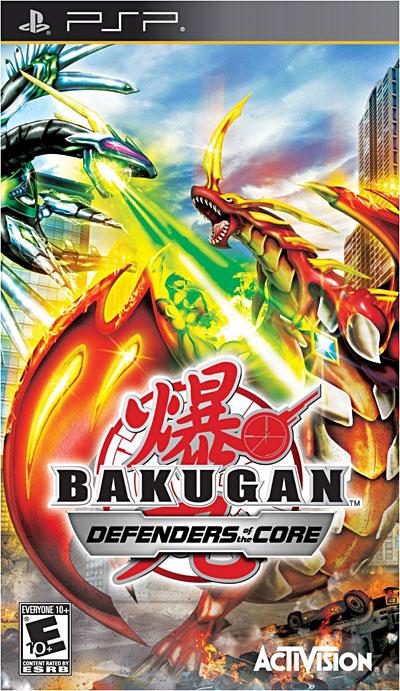 Bakugan Battle Brawlers - Les Protecteurs de la Terre - PSP