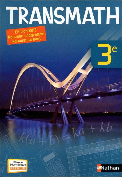 transmath 3eme 2012 corrige