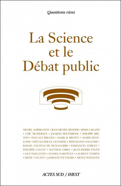 La science et le débat public