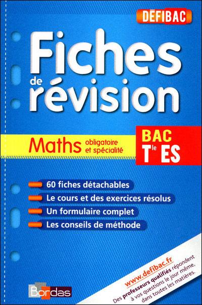 Défibac maths Term ES