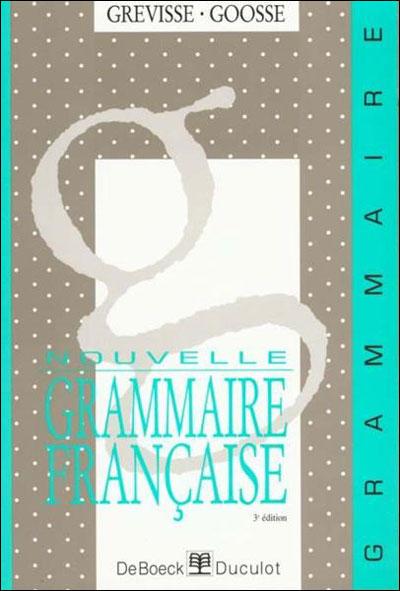 Nouv.grammaire francaise