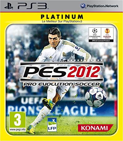 Pro Evolution Soccer 2012 - Gamme Platinum