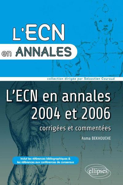 Annales de l'ECN 2004 et 2006