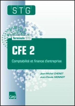 Cfe 2 compta finance