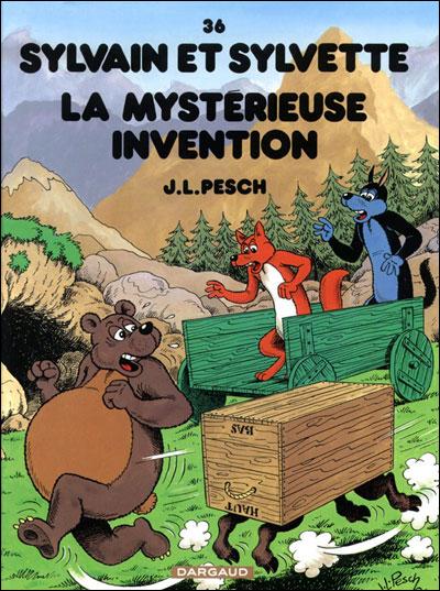 Sylvain et Sylvette - La Mystérieuse Invention
