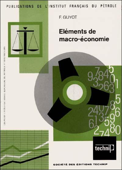 Eléments de macro-économie