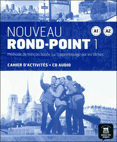 Nouveau rond-point a1-a2 cahier d exercices + cd