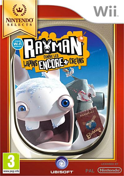 Rayman contre les Lapins Encore Plus Crétins  - Nintendo Wii