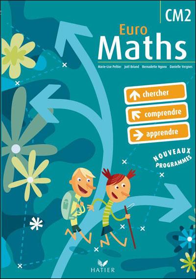 Euro Maths CM2 éd. 2009 - Manuel de l'élève + Aide mémoire