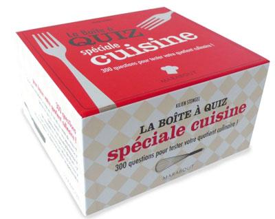 la boîte à quizz spécial cuisine - coffret - kilien stengel