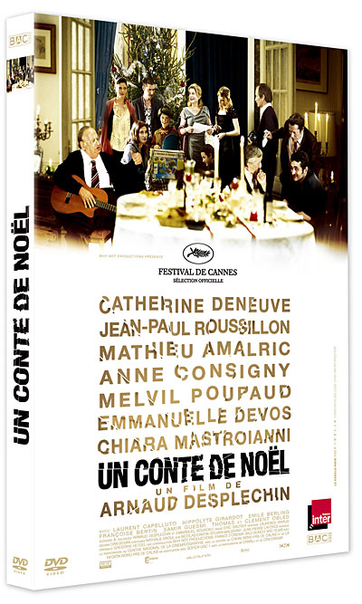 un conte de no l arnaud desplechin dvd zone 2 achat prix fnac. Black Bedroom Furniture Sets. Home Design Ideas