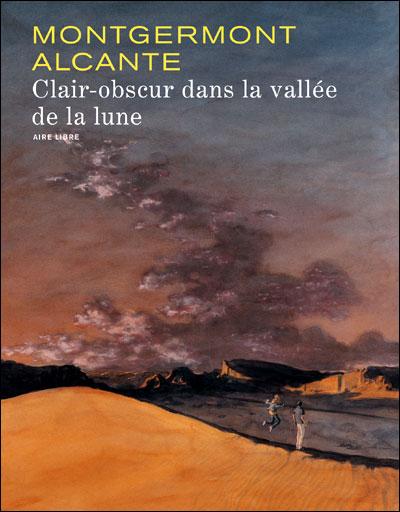 Clair obscur dans la vallée de la lune