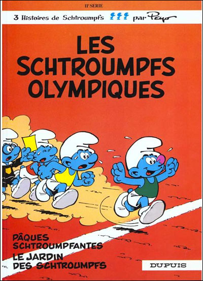 Les Schtroumpfs olympiques