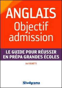Anglais : Objectif admission
