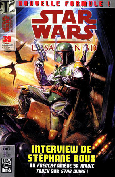 Star Wars, la saga en Bd
