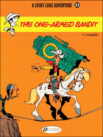 Lucky Luke - tome 33 The one armed bandit