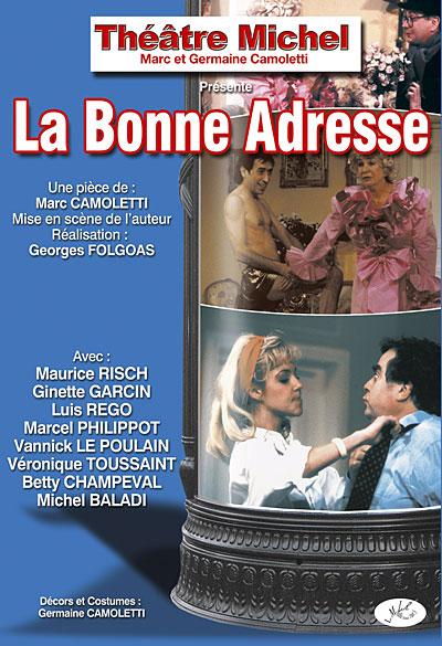 La Bonne Adresse - Théatre comique La-Bonne-adree
