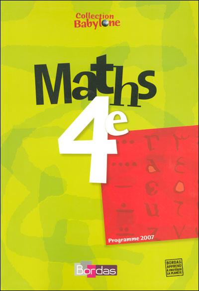 Maths 4e babylone manuel 07