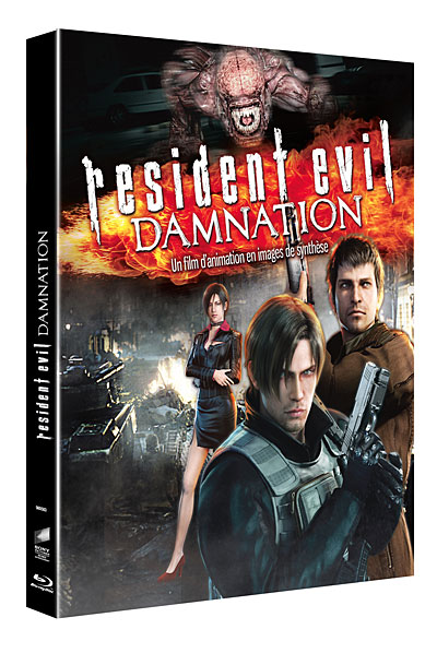 Resident Evil Damnation Blu Ray Blu Ray Achat Prix Fnac