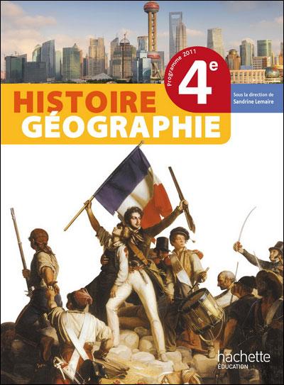 Histoire-Géographie 4ème - Livre élève Grand format