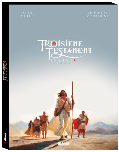 Le Troisième Testament - Julius Tome 2  Coffret Edition luxe + croquis : Le Troisième testament - Julius - Coffret Tome 02 + Album bonus