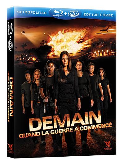 Demain, quand la guerre a commencé Combo Blu-ray DVD