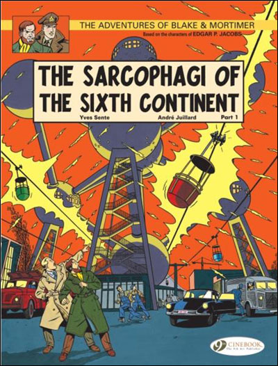 Blake & Mortimer - tome 9 The Sarcophagi of the sixth continent partie 1