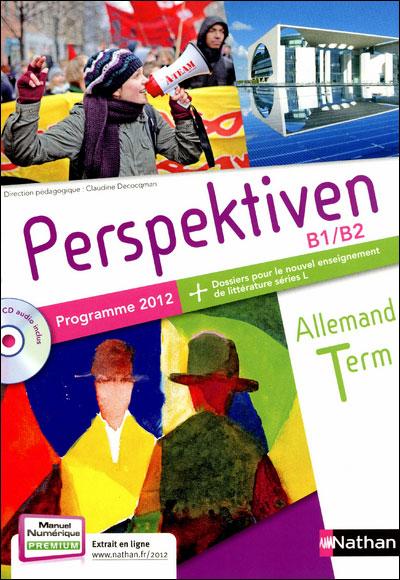 Perspektiven Term S, ES, L 2012 + cd
