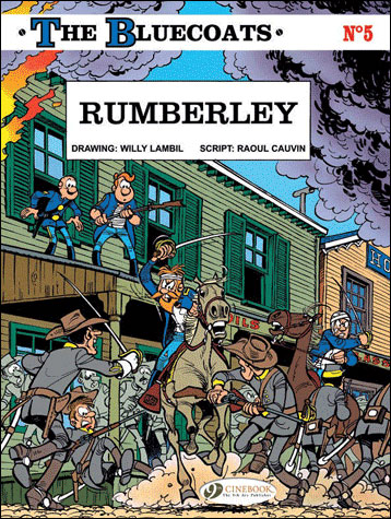 The Bluecoats - tome 5 Rumberley
