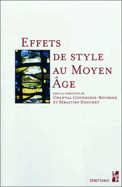 Effets de style au moyen age