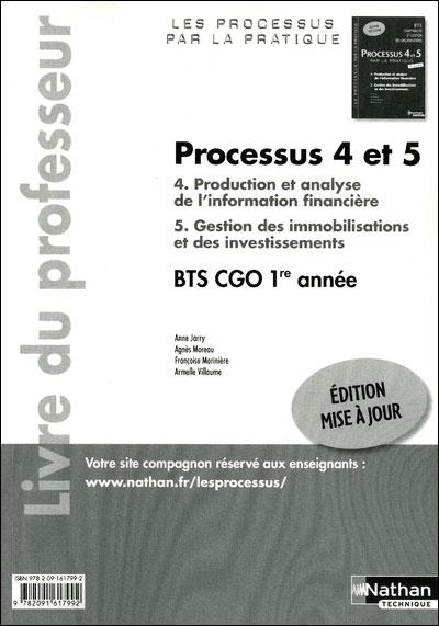 Processus 4/5 bts 1 cgo (p/p)
