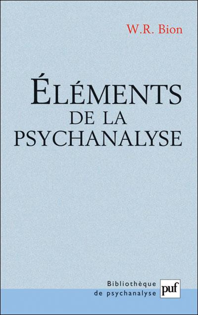 Eléments de la psychananalyse