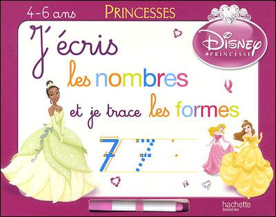 Disney Princesses -  : J'écris les nombres