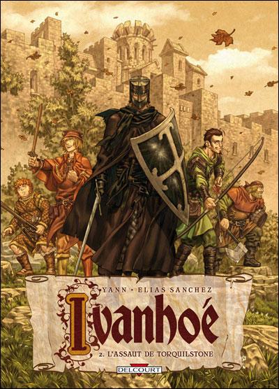 Ivanhoe t02 l'assaut de torquilstone